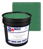 TRI-1190-40 - Emerald Green Shimmer Triangle Ink