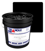 Triangle Plastisol Ink - Stretch Black STRC-070