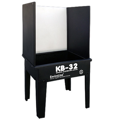 CCI KB-32 Kit Washout Booth for screen printing