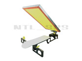 Silk Skates© Deluxe Skateboard Screen Printing Press - screen and deck not included