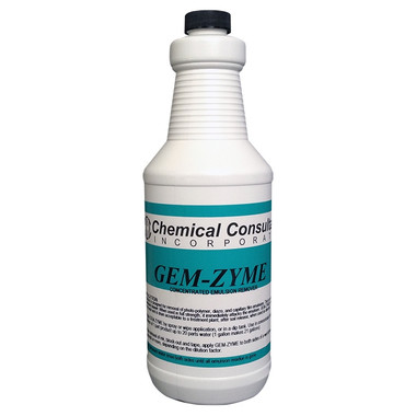 CCI Gem-Zyme Emulsion Remover - Super Concentrated - pint quart