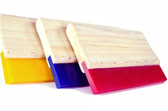 80 Duro BLUE Econo Wood Handle Squeegee