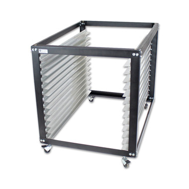 NTL Jumbo Screen Cart / Rack - No Top Option