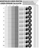 FREE - Screen Exposure Calculator