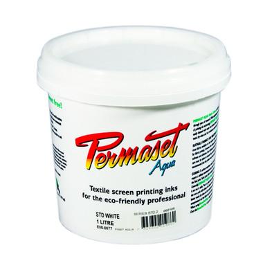 Permaset Aqua Standard Ink - White