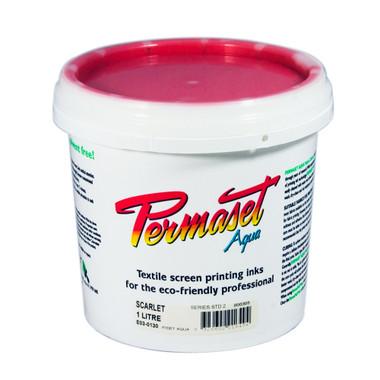 Permaset Aqua Standard Waterbased Ink - Scarlet