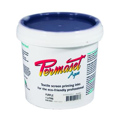 Permaset Aqua Standard Waterbased Ink - Purple