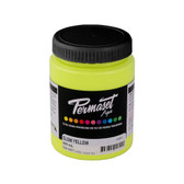 Permaset Aqua Supercover Waterbased Ink - Glow Yellow