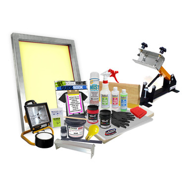 DIY Poster Printing Kit with Shocker Press & Burn your Own Screens