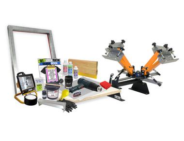 DIY Basic 4 Color Shocker© Screen Printing Kit – Burn your own screens