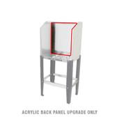 Quick Clean QCX-2024 - ACRYLIC BACK PANEL UPGRADE