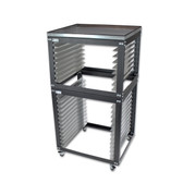 NTL Standard & Shorty Cart - Stack Rack - WITH METAL TOP OPTION
