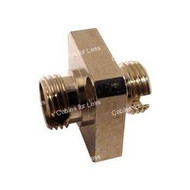 Fiber Coupler, Metal Simplex, FC/FC, Female To Female