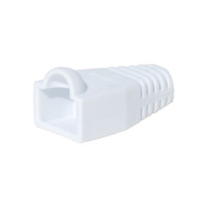 Bag Of 50 RJ45 Cat6 Boots - White