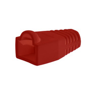 Bag Of 50 RJ45 Cat6 Boots - Red