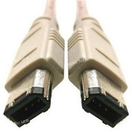 6 Foot Firewire, 6 Pin To 6 Pin