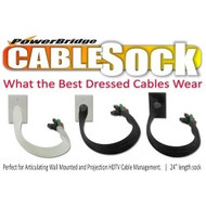 PowerBridge CableSock Pass-Through Wall Plate