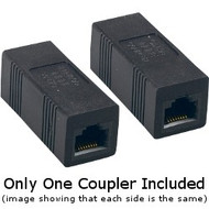 Coupler, Cat5, Crossover, RJ45 8P8C, F/F, May Be A Different Color Than Black