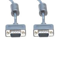 6 Foot M/M Slim SVGA Cable