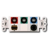 PowerBridge Decora Insert, HDMI + Component Video + S-Video