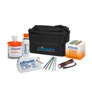 Sticklers Fiber Optic Cleaning Kit low-visibility Black canvas bag
