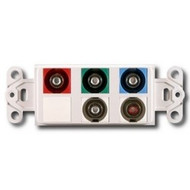 PowerBridge Decora Insert, Component Video + Audio