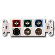 PowerBridge Decora Insert, Component Video + S-Video + Stereo Audio