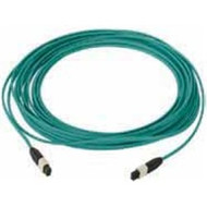 1 Meter 12 Fiber, Multimode 50um, OM4, MTP male to MTP male