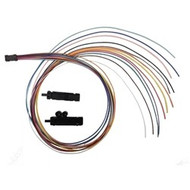 36 inch, Fan-Out Kit, 12 Fiber Buffer Tube build up 250µm fiber to 900µm loose buffered coating size for connector termination
