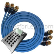 Cable Calculator: Custom Length RCA x3 Cable