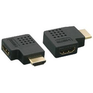 HDMI Male to Female Vertical Flat Coupler / Adapter, 270 Degree