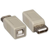 Adapter, USB A Female to B Female