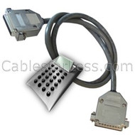 Cable Calculator: 25-Wire Serial / Null Modem Cable
