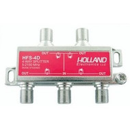 4-Way High Frequency Splitter