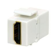 Keystone Jack HDMI, White