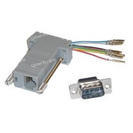 Networking RJ45 (8P8C) To DB9 Male Adapter