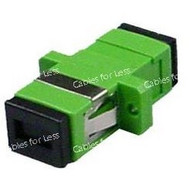 Fiber Coupler, Singlemode Simplex APC, SC/SC, Female To Female
