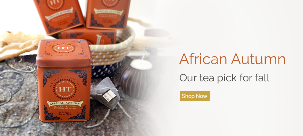 Shop African Autumn. A Fall Tea Pick.