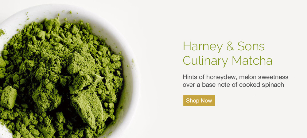 Harney & Sons Culinary Matcha - High Quality Matcha for Baking, Cooking and Blended Drinks.