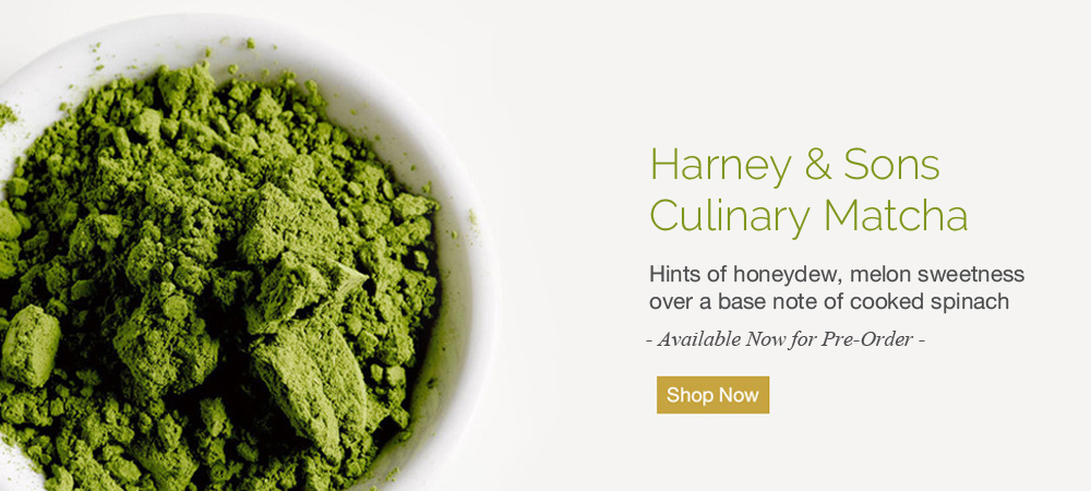 Harney & Sons Matcha Tea is Now Avaiilable for Pre-order