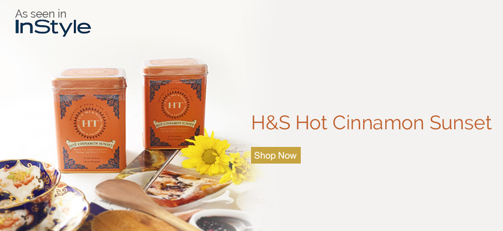 Hot Cinnamon Sunset As Seen in InStyle Magazine