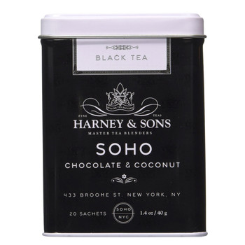 Harney & Sons SoHo 20 Sachet Tin