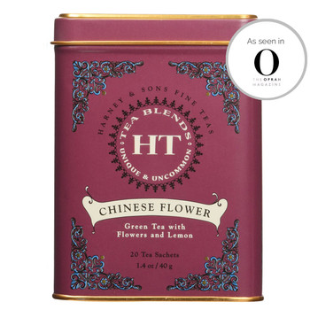 Harney & Sons HT Chinese Flower 20 Sachet Tin