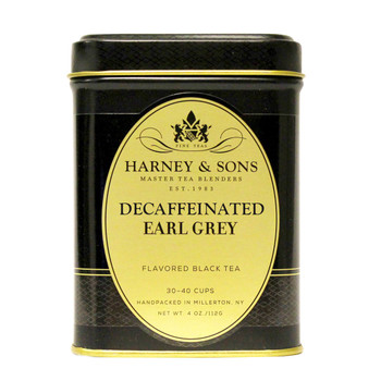 Harney & Sons Decaf Earl Grey Loose Tea 4 oz