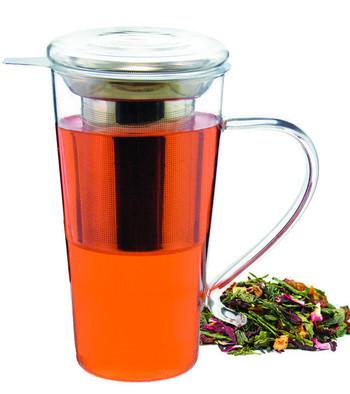 Tall Tea Infuser Mug