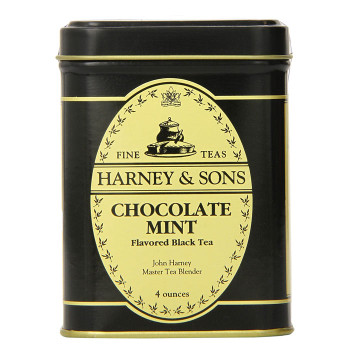 Harney & Sons Chocolate Mint 4oz Loose Tin