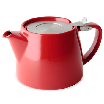 Red Stump Teapot with Infuser (18 oz)