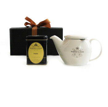 Harney & Sons Paris Tea and Teapot Gift Set