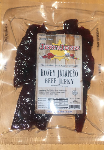 Honey Jalapeno 7oz Beef Jerky