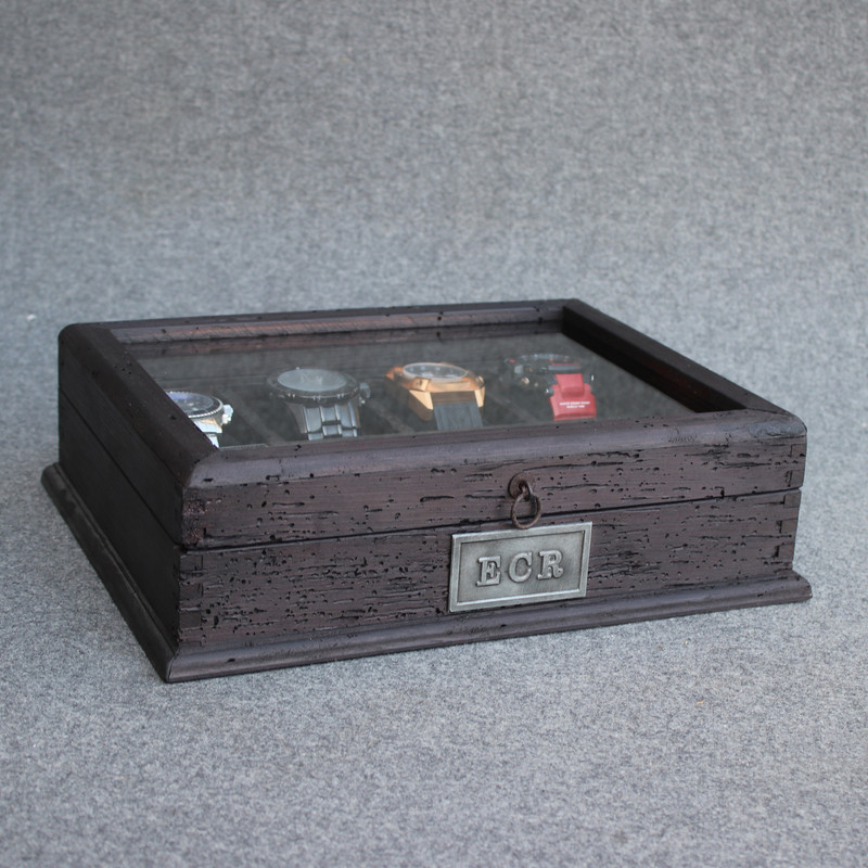 Ash Black Watch Box for 8 watches.